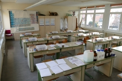 Das Biologie- und Chemiekabinett