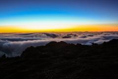 Sonnenaufgang über den Wolken  (Thomas Kromen)